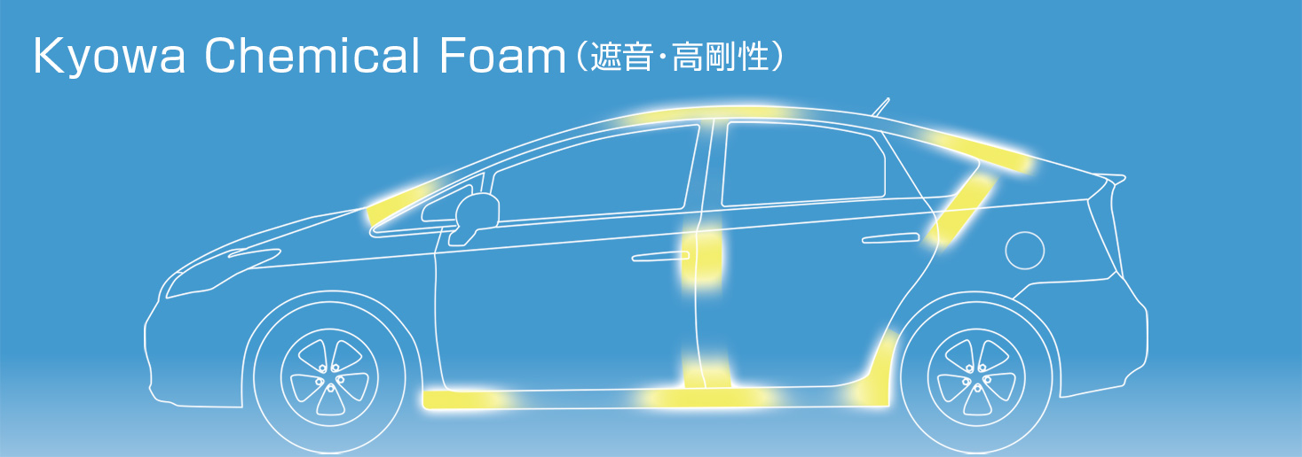 Kyowa Chemical Foam(遮音・高剛性)
